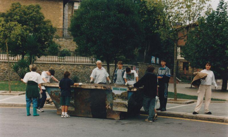 Erreka Eguna limpieza del rio 1999