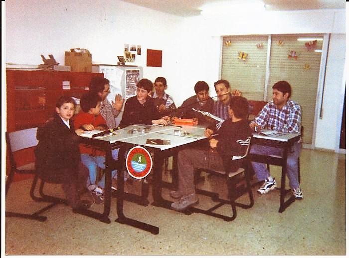 AULA DE ESCUELA PESCA ABUSU 2000