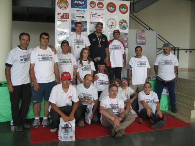 Algunos delos participantes F.Carpa