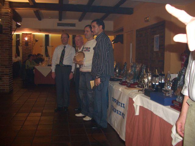 Cena Galardones Federacion Bizkaia 2008