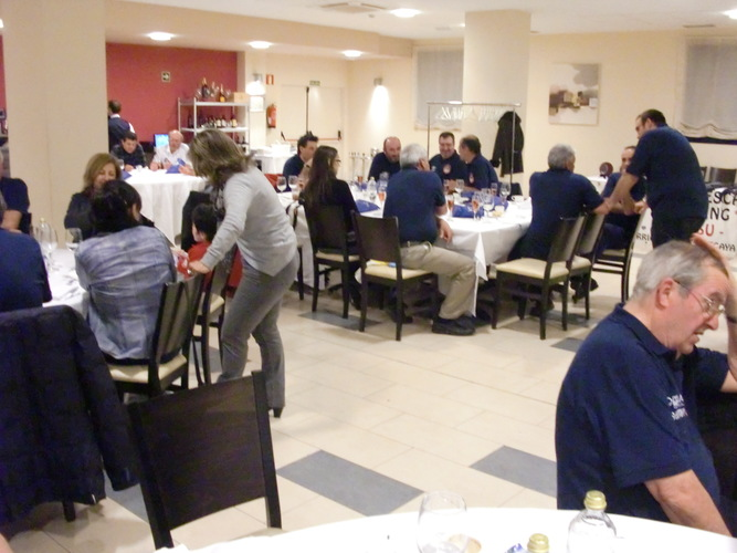 Cena Open Mar Corcho 2011