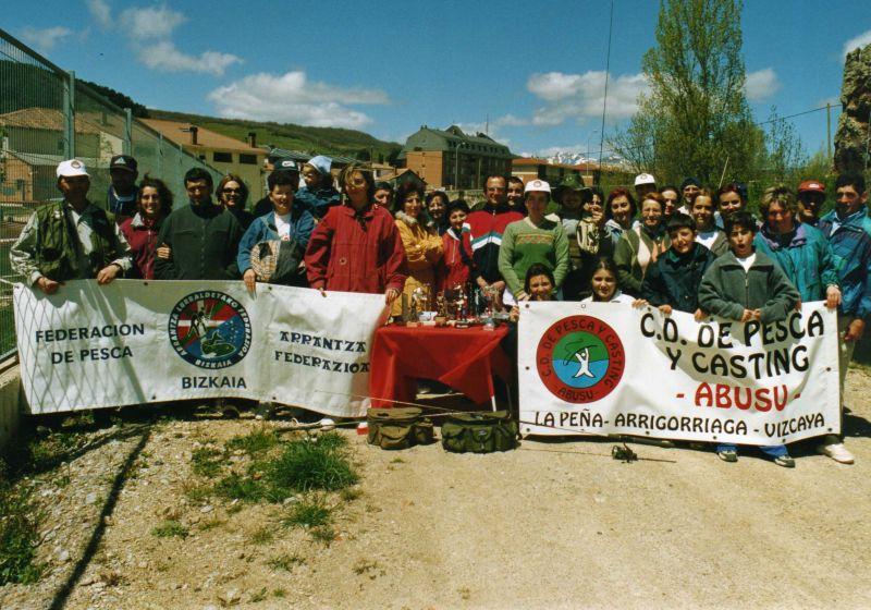 Certamen de Pesca rio Pisuerga comida y Cultutra Montaña Palentina 2001