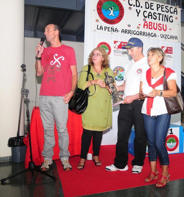 Entrega Galardon del Ayuntamiento Al C.D. Pesca y casting Abusu