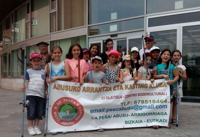 Escuela pesca Abusu 2016y