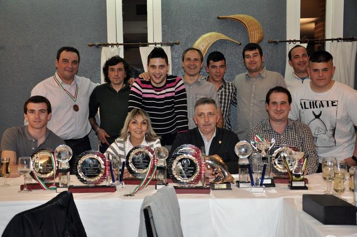 Galardones Federacion Bizkaia 2012