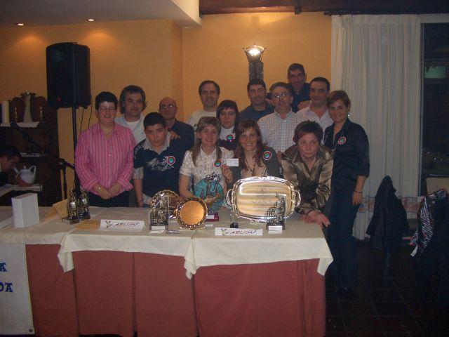 Galardones Federacion Bizkaia2008