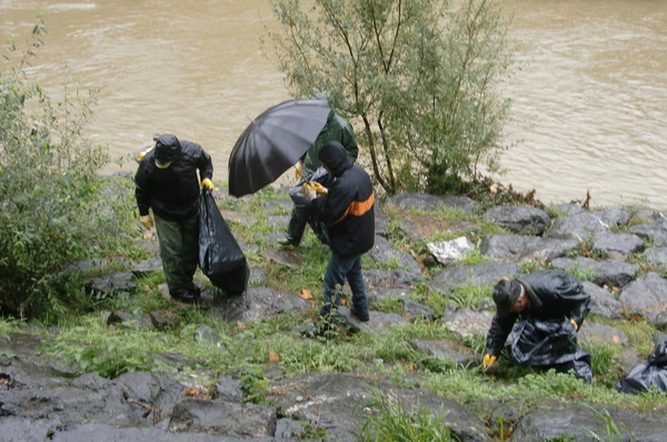 Limpieza del Rio