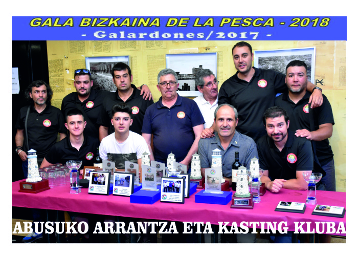 Trofeos Federacion Bizkaia Temporada 2018.