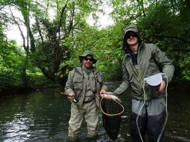 Salida pesca mosca 2021